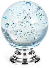 Tutoy Kristalglas Deurgrepen Trekt Knoppen Zinklegering Voor Kast Kledingkast Lade - Lichtblauw