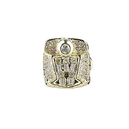 CLCL NBA 1998 Michael Jordan Chicago Bulls Championship Ring Anillos de Campeonato Campeones de Baloncesto Anillo de Réplicas de Aficionados Colección Hombres de Recuerdo, Without Box, 8-14#,No. 9
