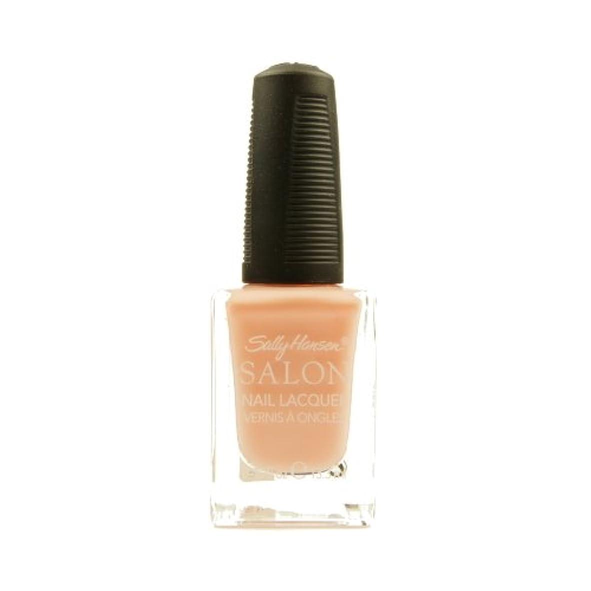 鹿祭司グリット(3 Pack) SALLY HANSEN Salon Nail Lacquer 4134 - Pink About It (並行輸入品)