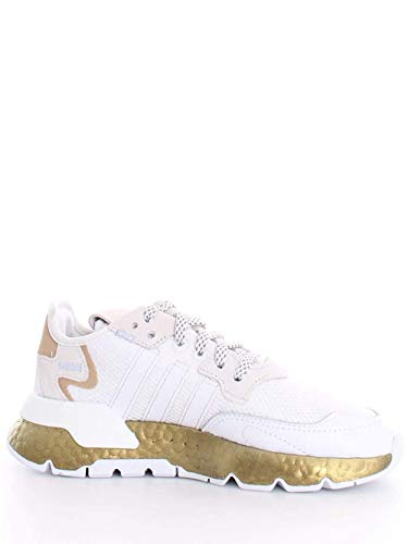 Sneakers ADIDAS Donna Nite Jogger W FV4138 Bianco 37 1/3