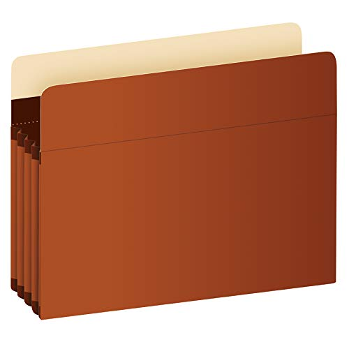 Pendaflex Expanding Accordion File Pockets, Extra Durable, Expands 3.5', Legal Size, Reinforced with Dupont Tyvek Material, 10/Box (15423)