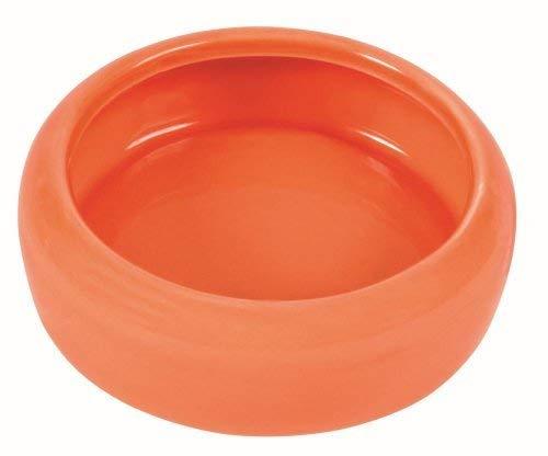 Trixie Keramikschüssel mit abgerundetem Schüttrand für Meerschweinchen, 200 ml (Sortiert)