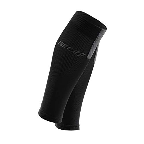 CEP Men's Compression Calf Sleeves 3.0 Black/Dark Grey Size IV