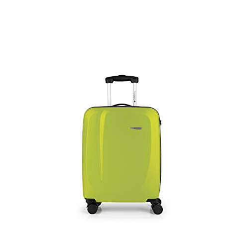 Gabol - Line | Maleta de Cabina Rigidas de 39 x 55 x 20 cm con Capacidad para 33 L de Color Pistacho