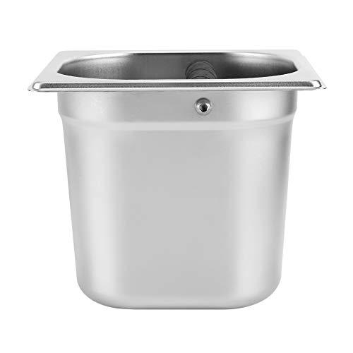 Liukouu Kosz na odpady na kawę puszkę, łatwy do czyszczenia dla gospodarstwa domowego kawy dla profesjonalnego ekspresu do kawy hotelu (duży)