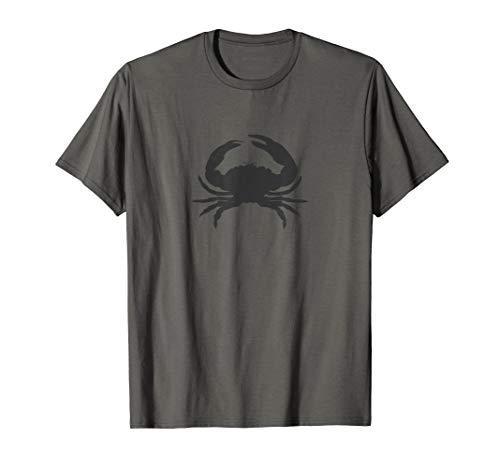 Mondkind: Krebs, die Krabbe mit dunkelgrauer Überlagerung T-Shirt