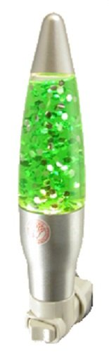 Mini Green Sparkle Light Night Light Glitter Motion Lamp Bedroom Bath