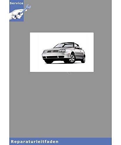 VW Golf Cabrio, Typ 1E (93-02) Stromlaufplan / Schaltplan - Reparaturanleitung