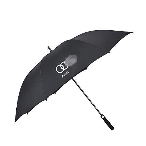 Car Travel Paraplu, Paraplu ergonomische handgreep, Paraplu met auto Logo,A_udi