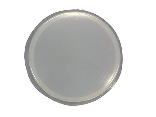 12in Plain Smooth Round Stepping Stone Concrete Mold 2043