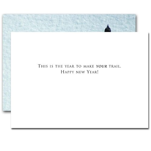 Trail Maker: New Year Holiday Cards - box of 10 cards & envelopes Photo #2