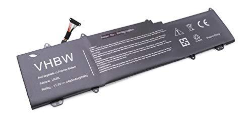 vhbw Batterie Li-Polymer 4400mAh (11.3V) pour Notebook Laptop ASUS Zenbook UX32LA, UX32LA-0171A4210U. Remplace: 0B200-00070200, C13-N1330, C31N1330.
