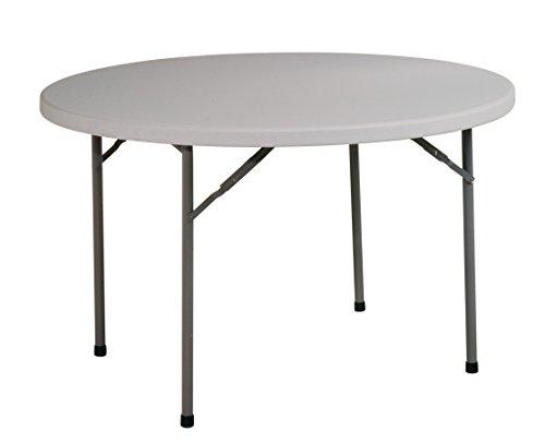 Office Star Resin Multipurpose Round Table, 4-Feet