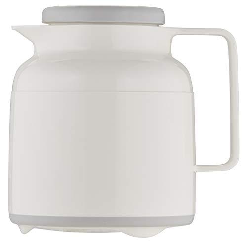 Helios Wash Pro Kunststoff-Isolierkanne mit Drehverschluss 1,0 l weiß spülmaschinenfest