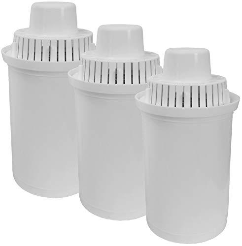 Caso Ersatz 3er-Set Wasserfilter für Heißwasserspender, Kunststoff, weiß, 11,5 cm