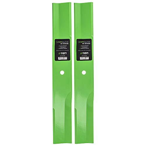 8TEN LawnRAZOR Low-Lift Blade Set 36 Inch Deck for Toro ProLine Side Discharge 27-0990 44-5480 56-2390 92-7961 2 Pack