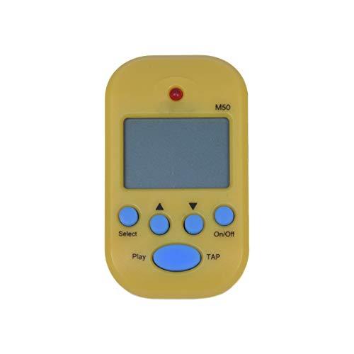 Cikuso M50 Metronomo Digital Electronico con Amarillo Clip Instrumento
