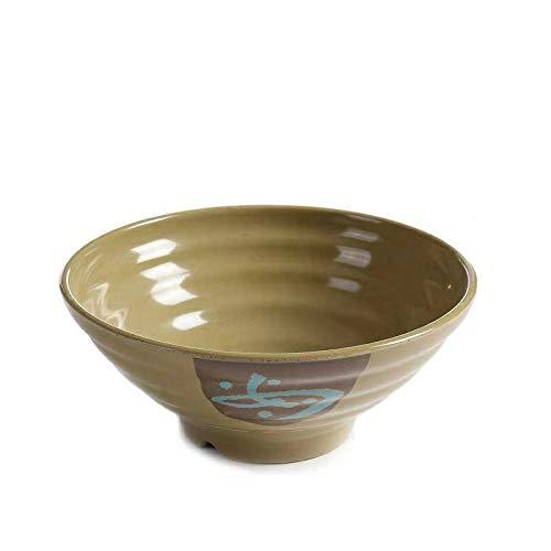 Porselein Bowl Commercieel Restaurant Noodle House Dikke, Bowl Ramen Bowl Diepe Gebakken Saus Noodle Bowl Noedels Heet en Zure Poeder Bowl Pittige Hot Noodle Bowl