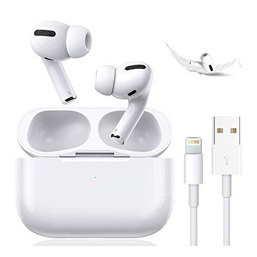 Wireless Earbuds Bluetooth 5.0 Headset Earbuds Headphones Built-in Microphone and Charging Box,3D...