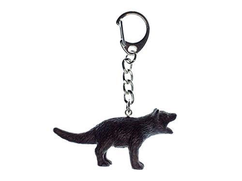 Miniblings Tasmanischer Teufel Schlüsselanhänger Gummi - Handmade Modeschmuck I I Anhänger Schlüsselring Schlüsselband Keyring