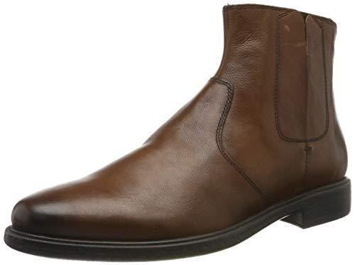 Geox Herren U TERENCE D Chelsea Boots, Braun (Browncotto C6003), 39 EU