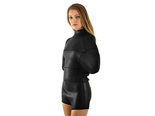 Elite Bondage Bodybag Neopren Zwangsjacke BDSM Fessel Body (Größe S)