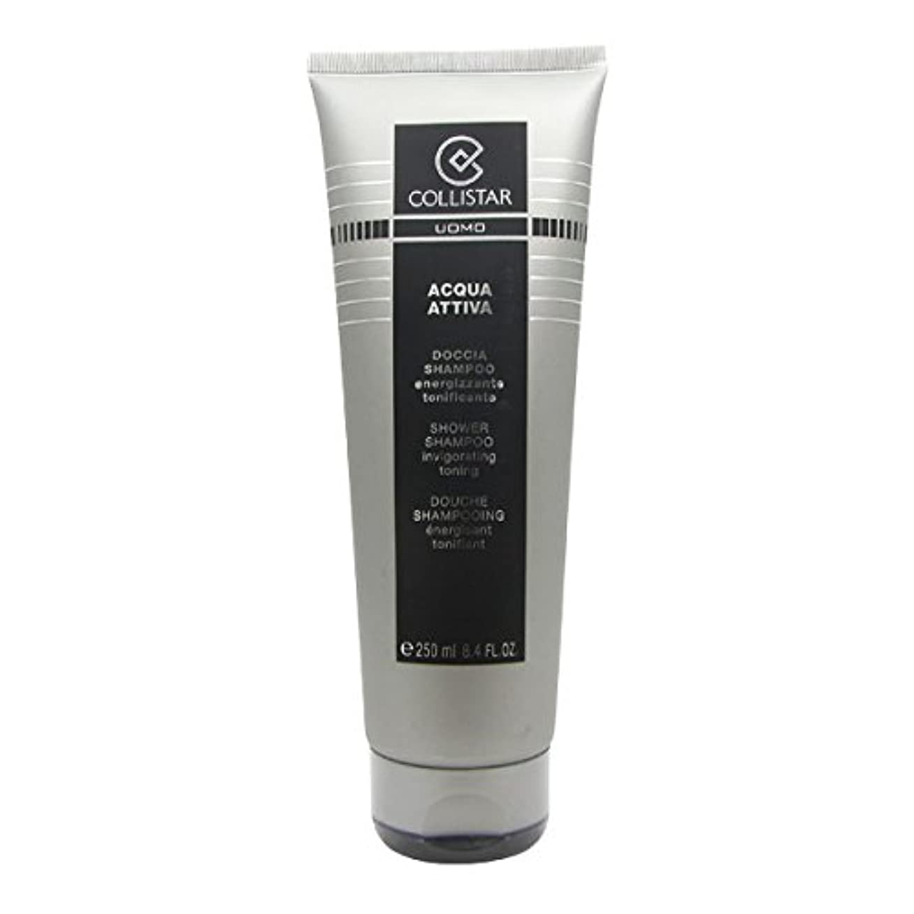 小説そこから流星Collistar Men Acqua Attiva Shower Shampoo 250ml [並行輸入品]