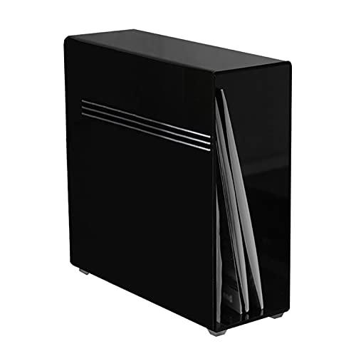 Nai-storage Rack de exhibición de Discos de Vinilo de 12 Pulgadas, Caja de Almacenamiento de Vinilo acrílico LP, Caja de Almacenamiento Adecuada para álbumes de música en CD (Size : 33 * 10 * 34.5cm)