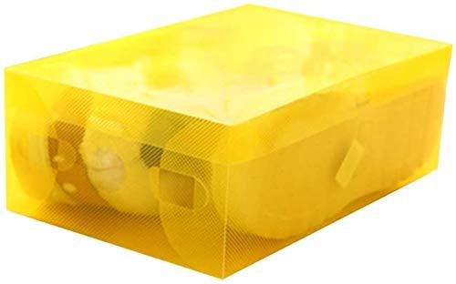 Ranura de calzado ajustable Organizador de zapatos Cajas de plástico Cajas de...