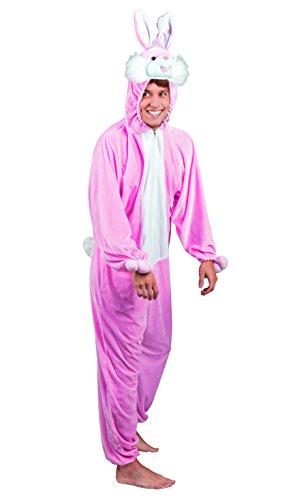 Boland Combinaison de déguisement en peluche Animal 1,95 m rose