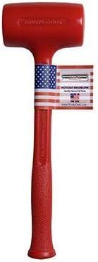 Trusty-Cook Ultra-Cheap Deals Model 3-45 oz Polyurethane Blow Daily bargain sale Hammer Red - Dead