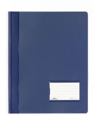 Durable 268007 Schnellhefter Duralux überbreit, 25er Packung dunkelblau