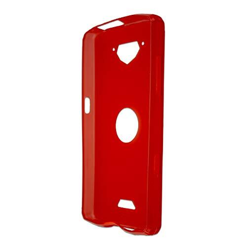 caseroxx TPU-Hülle für Crosscall Core-X3, Handy Hülle Tasche (TPU-Hülle in rot)