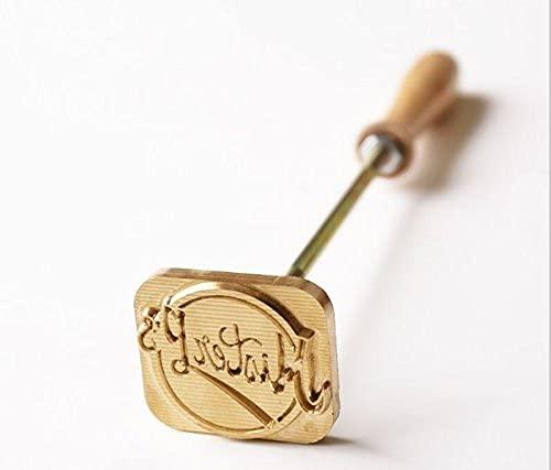 Logo personnalisé/fer à graver en bois/fer à steak/marque en cuir (taille inférieure à 8 cm).