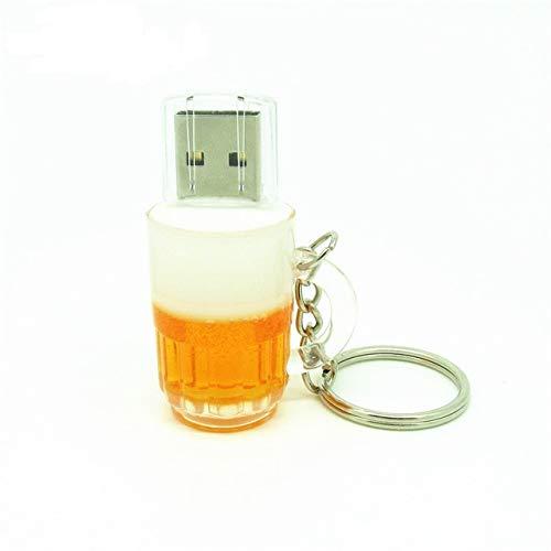 CHIAVETTA PEN DRIVE USB 2.0 16 GB FLASH DRIVE A FORMA DI BOCCALE BIRRA NUOVA