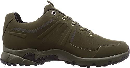 Mammut Ultimate Pro Low GTX, Chaussures de Randonnée Basses Homme, Vert (Dark Olive-Black 4027)
