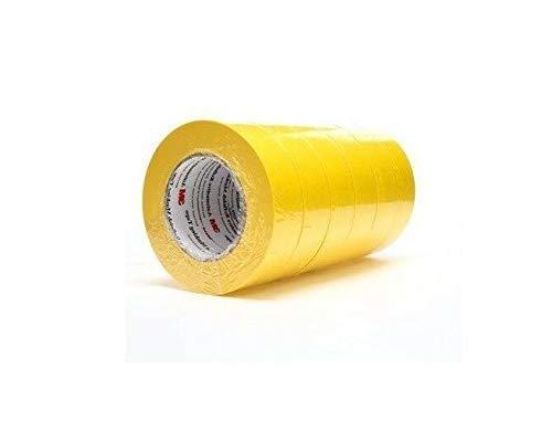 "Quality 3M 06654 Masking Tape 1.5"" Yellow (6 Rolls) 6654"
