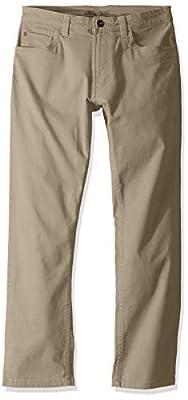 IZOD Men's Saltwater 5-Pocket Straight Fit Chino Pant, Pale Khaki, 32W X 30L from IZOD