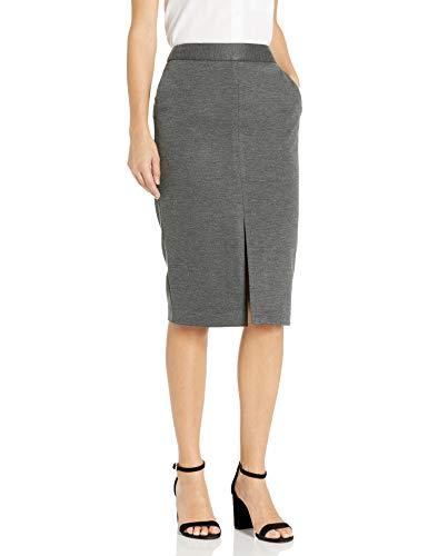 Tommy Hilfiger Women's Pencil Skirt, Charcoal, 12