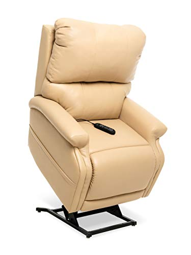 Pride ViVaLift Escape True-Infinite Position Lift Chair (PLR990iM) with Inside Delivery and Setup Option (Ultraleather Buff, Curbside Delivery)