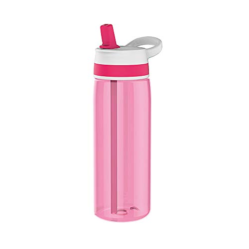 Zak Sprint Trinkflasche mit Strohhalm 75 cl Fuchsia
