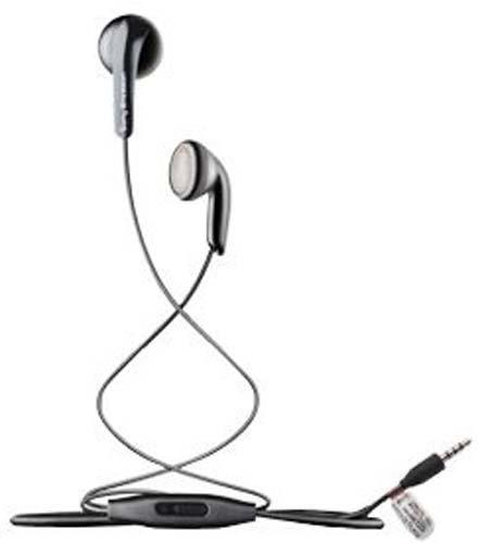 SONY, auricolari adatti per Sony Xperia Z1, con pulsante di risposta on/off, di colore nero, codice articolo MH-410C