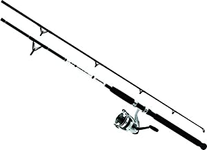 Daiwa DWB40-B/F702M D-Wave Saltwater Spinning Combo, 1 Bearing, 7' Length, 2Piece Rod, Medium Power, Fiberglass Blank Material