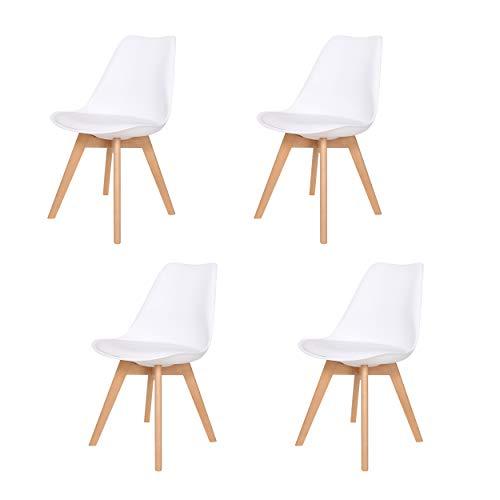 -76% Lote de 4 sillas de Polipropileno SIA