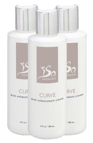 IsoSensuals Curve Butt Enhancement Cream - 3 Bottles