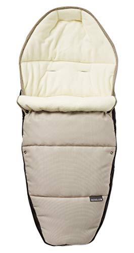 Gesslein 716617000 - Saco de abrigo para cochecito de bebé,
