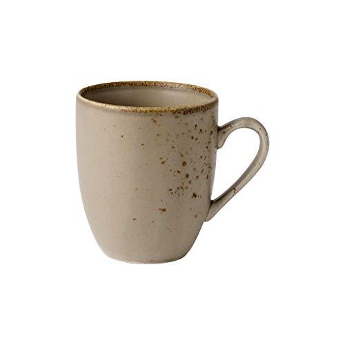 vivo Villeroy & Boch Group 1952709651 Stone Ware Brown Becher mit Henkel 0,35 l (1 Stück)