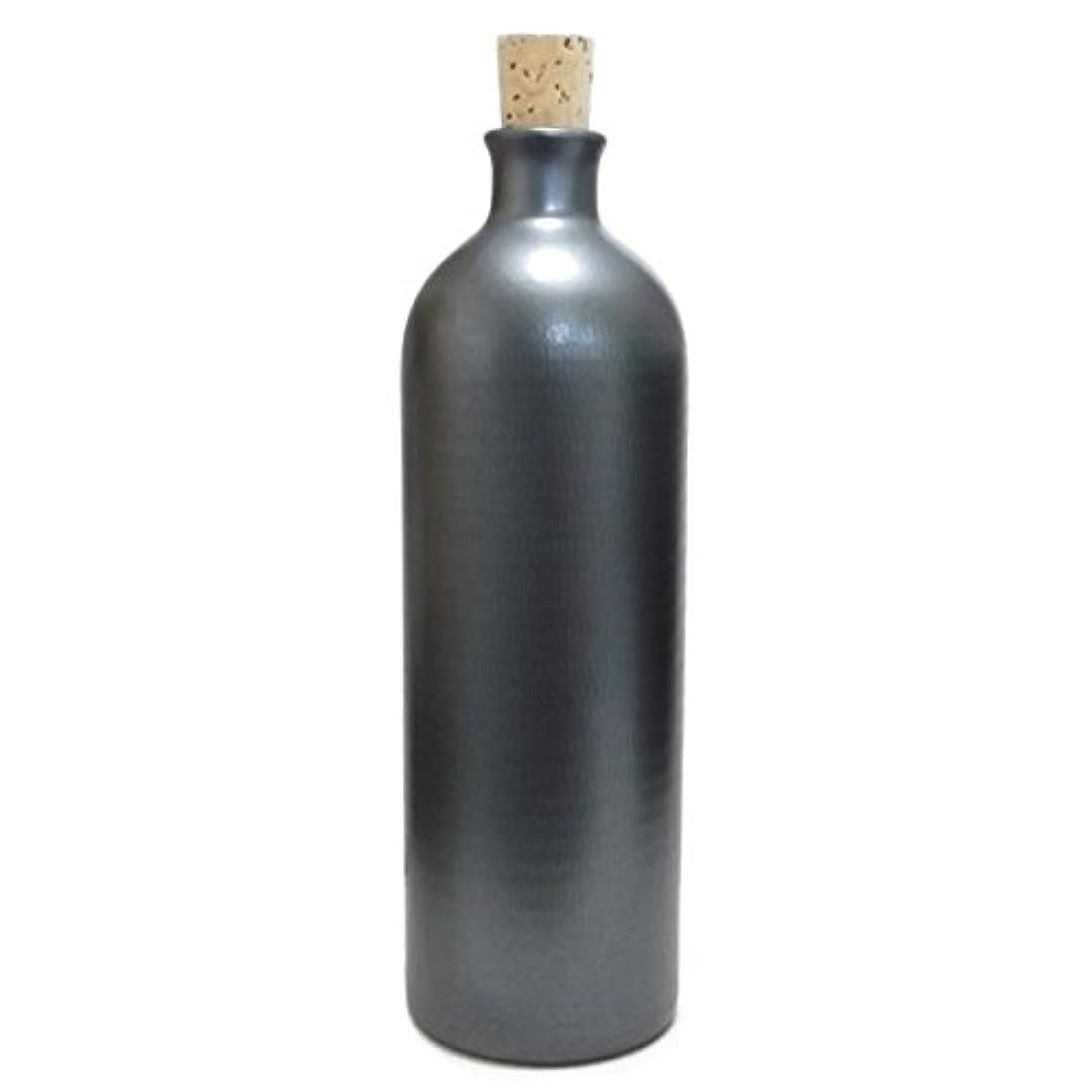 モロニック慢遺産信楽焼き イオン ボトル ブラック ION-4
