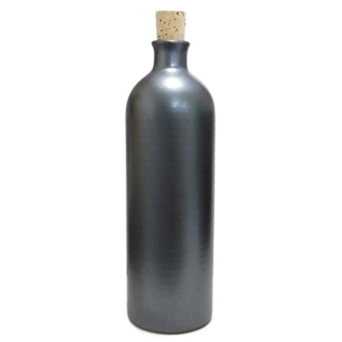 適度な抜本的ななくなる信楽焼き イオン ボトル ブラック ION-4