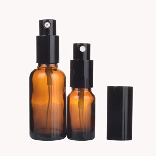 Uonlytech Flacons de Pulvérisation en Verre Flacons de Pulvérisateur de Brouillard Rechargeables Maquillage Récipient D'atomiseurs Cosmétiques pour Le Voyage Parfums (2Pcs 30Ml Et 2Pcs 50Ml)